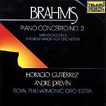 Brahms: Piano Concerto No. 2; Haydn Variations (CD)