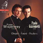 Wispelwey Plays Chopin, Fauré & Poulenc (CD)