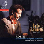 Rossini: L'Album Pour Les Enfants Adolescents (CD)