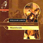 W Lawes: Four & Five Part Consorts (CD)