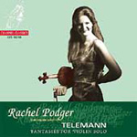Telemann: Violin Fantasies (CD)