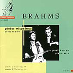 Brahms: Cello Sonatas (CD)