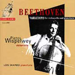 Beethoven: Cello Variations (CD)