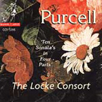 Purcell: 10 Sonatas in Four Parts (CD)