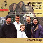 Consort Songs: Connor Burrowes (CD)