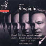 Repighi: Songs, Volume 1 (CD)