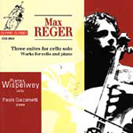 Reger: Cello Suites, Etc (CD)