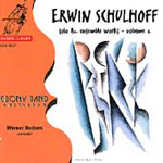 Schulhoff: Solo and Ensemble Works, Volume 2 (CD)