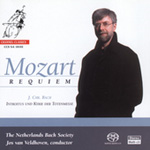 Mozart: Requiem; Bach: Totenmesse - Excerpts (SACD)