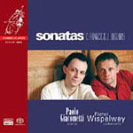 Produktbilde for Brahms; Franck: Cello Sonatas (SACD)