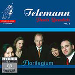 Telemann: Paris Quartets, Vol 2 (SACD)
