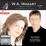 Mozart: Complete Sonatas for Violin and Keyboard, Vol 1 (SACD)