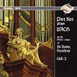 Piet Kee plays Bach (CD)