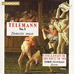 Telemann: Domestic Music, Vol.3 (CD)