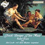 French Baroque Flute Music (CD)