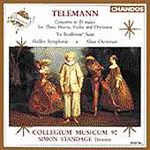 Telemann: Orchestral Works (CD)