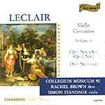 Leclair: Violin Concertos, Volume 2 (CD)