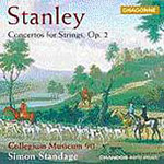 Stanley: Concertos for Strings, Op 2 Nos 1-6 (CD)