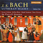 Bach: Lutheran Masses, Vol 1 (CD)