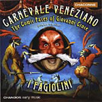 Carnevale veneziano: The Comic Faces of Giovanni Croce (CD)