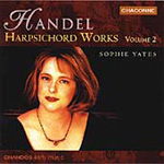 Handel: Keyboard Works, Volume 2 (CD)