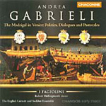 Gabrieli: The Madrigal in Venice (CD)