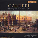 Galuppi: Messe per San Marco (CD)