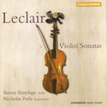 Leclair: Violin Sonatas (CD)