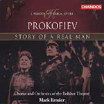 Prokofiev: Story of a Real Man (CD)