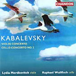Kabalevsky: Violin Concerto; Cello Concerto No 2 (CD)