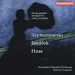 Haas; Janàcek; Szymanowski: String Quartets arranged for Orchestra (CD)