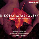 Myaskovsky: Symphony No 27; Cello Concerto (CD)