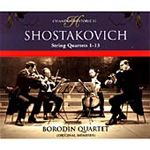 Shostakovich: String Quartets Nos 1 - 13 (CD)