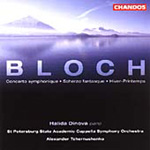 Bloch: Works for Piano and Orchestra (CD)