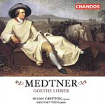 Medtner: Vocal Works (CD)