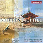 Britten: Prince of the Pagodas; McPhee: Tabuh-Tabuhan (CD)