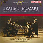 Brahms: Quintet for Clarinet and Strings; Mozart: String Quartet No 15 (CD)