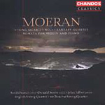 Moeran: String Quartet No 1; Fantasy Quartet; Violin Sonata (CD)