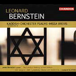 Bernstein: Symphony No 3; Chichester Psalms; Missa brevis (CD)