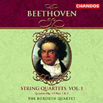 Beethoven: String Quartets Nos 1 and 3 Op 59 (CD)