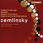 Zemlinsky: Preludes; Sinfonietta; Symphony in B flat major (CD)