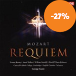 Mozart: Requiem K626 (CD)