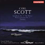 Scott, C: Symphony No 3, 'The Muses'; Piano Concerto No 2; Neptune (CD)