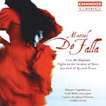Falla: Love the Magician; Nights in the Garden of Spain (CD)