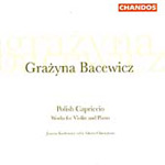 Bacewicz: Works for Violin and Piano (CD)