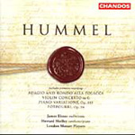 Hummel: Violin Concerto (CD)