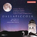 Dallapiccola: Orchestral Works (CD)