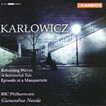 Karlowicz: Episode at a Masquerade; Returning Waves (CD)