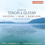 Britten; Dowland; Maw: Songs for Tenor and Guitar (CD)