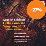 Leighton: Cello Concerto; Symphony No 3 (CD)